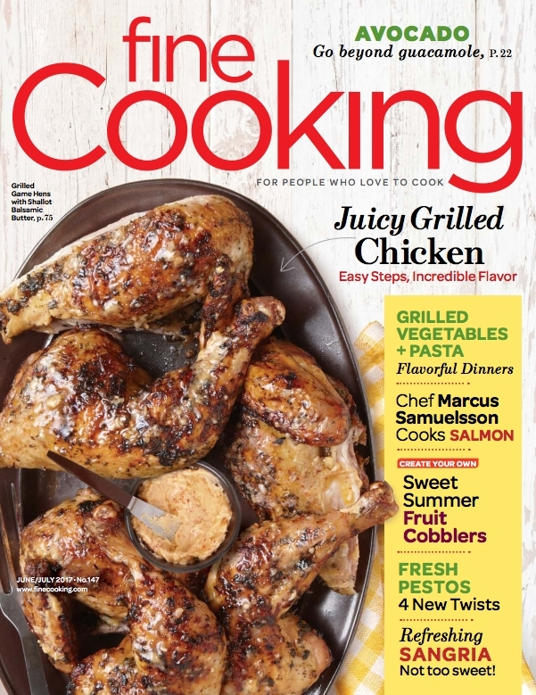 Fine Cooking Magazine - June/July 2017 On Newsstands Now