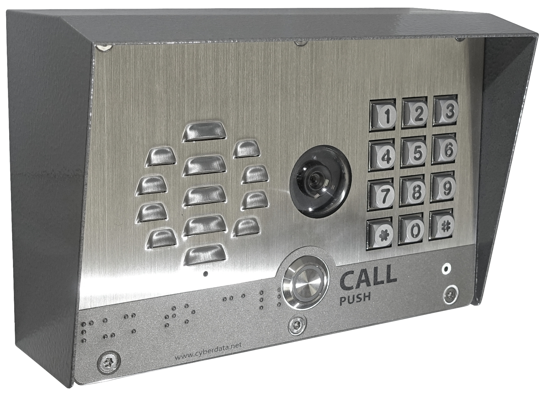 011414 SIP-enabled Outdoor H.264 Video Intercom w/Keypad. (Photo: Business Wire)