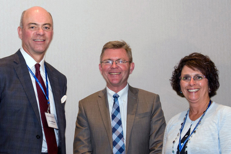 From left to right: Dr. Greg Maynard of UC Davis Medical Center, Dr. Paul Chidester of Sentara Norfolk General Hospital, and Rose Newsom of Kaweah Delta Medical Center delivered dynamic presentations at the 6th International Hospital Diabetes Meeting symposium entitled 'Leveraging Technology for Inpatient Glycemic Management to Improve Clinical and Financial Outcomes.' (Photo: Business Wire)