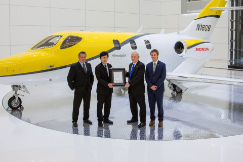 Honda Aircraft Company receives Canadian Type Certification for the HondaJet. (Photo: Business Wire)