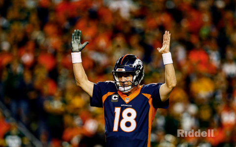 Riddell welcomes Peyton Manning as strategic business partner. (Photo courtesy of Riddell)