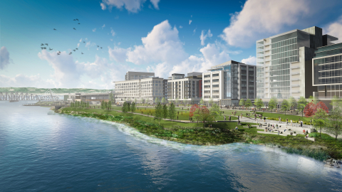 Gramor Development, Inc. Secures $42.5 Million Construction Loan for Block 6 at The Waterfront Vancouver Project Through U.S. Bank (Graphic: Business Wire)