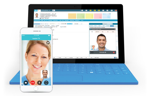healow™ TeleVisits (Graphic: Business Wire)
