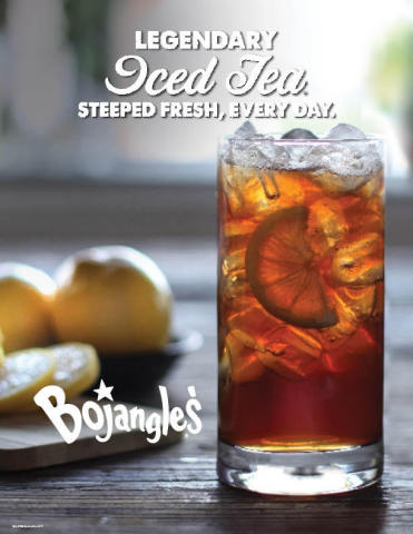 All summer long, grab a cup of Bojangles' Legendary Iced Tea® for just $1 at participating locations ...