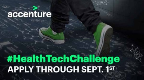 Accenture calls for applications for the HealthTech Innovation Challenge (Photo: Business Wire)