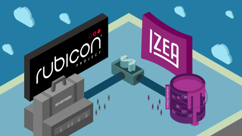 IZEA Partners with Rubicon Project for Programmatic Ad Buying Through Social Influencers. (Photo: Business Wire)