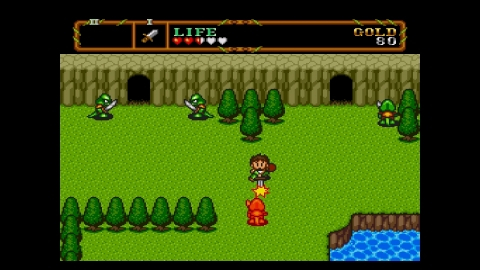 Experience improved graphics and controls in this exciting TurboGrafx-16 sequel to the original action RPG. (Photo: Business Wire)