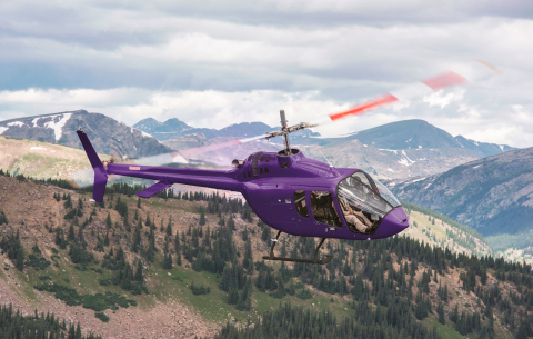 Through the flight test program, the Bell 505 underwent rigorous certification activities and achieved more than 1,000 flight test hours. (Photo: Business Wire)