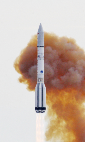 ILS Proton Successfully Launches the EchoStar XXI Satellite (Photo: Business Wire)