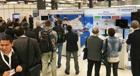 Meet-the-Expert Session at the joimax® booth at GSC in Milan, Italy (Photo: Business Wire)