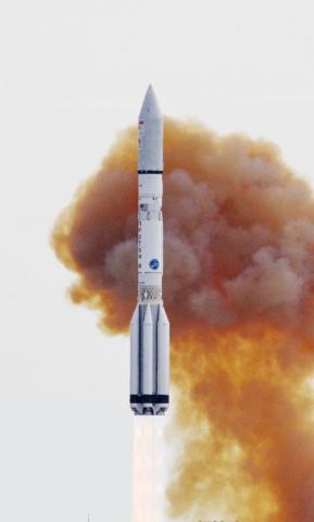ILS Proton Successfully Launches the EchoStar XXI Satellite (Photo: Business Wire)