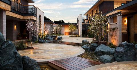 Bardessono Hotel and Spa in Yountville Napa Valley, California.