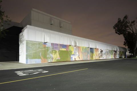 Mural at Eastridge by CYRCLE. (Photo: Business Wire)