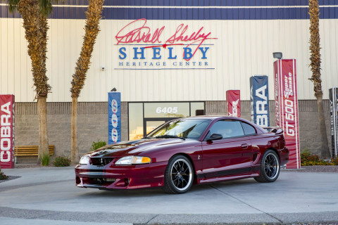 Shelby American created a one-off 1997 Mustang (Photo: Business Wire)