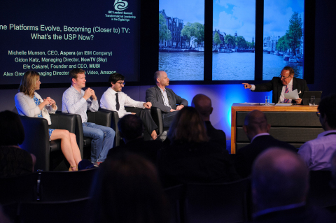 Industry leaders gather at IBC Leaders' Summit to discuss transformation, growth and reinvention (Photo: Business Wire)