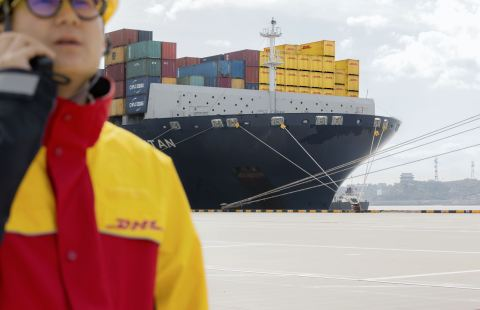 Ocean View, DHL Global Forwarding's new online platform, allows shippers to track their ocean freight shipments in near real-time. (Photo: Business Wire)