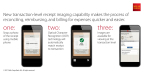 Wells Fargo's new transaction-level receipt imaging helps commercial customers upload receipts quicker and more conveniently (Graphic: Business Wire)