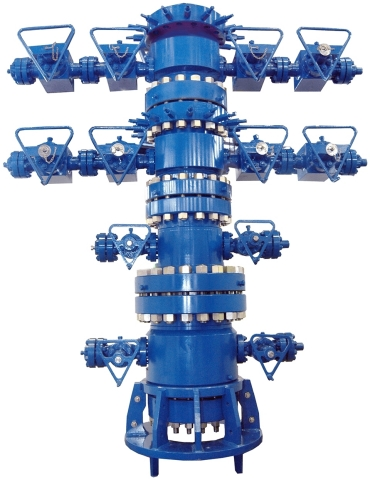 A conventional wellhead from KOP Surface Products (Photo: Business Wire)