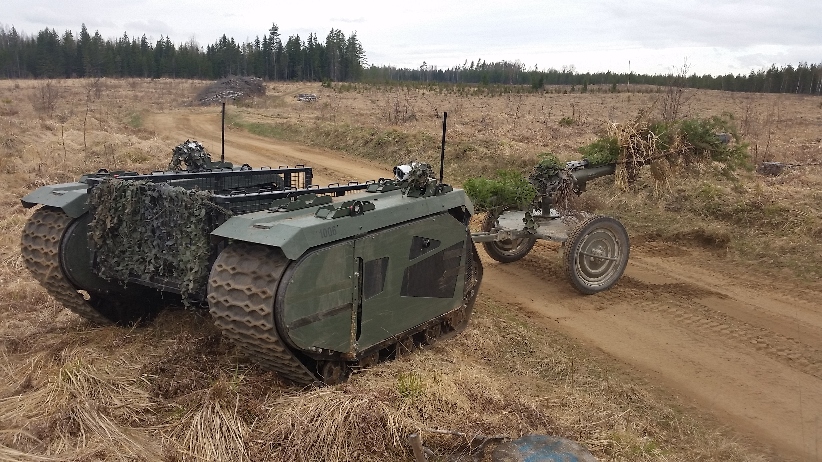 Milrem Starts Cooperation with the Estonian Defence League