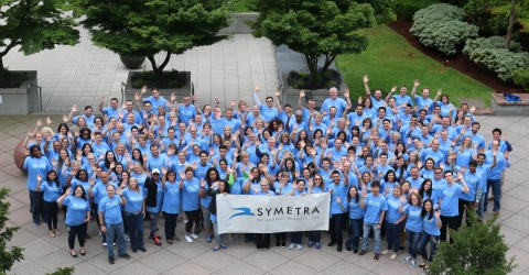 Symetra, a national provider of employee benefits, annuities and life insurance, will send nearly 700 employee-volunteers out into the community this week for the ninth annual Symetra Week of Service. Employees will take time from their work day to participate in 82 projects on behalf of 40 nonprofit organizations - many in the Puget Sound area. (Photo: Business Wire)
