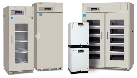 Panasonic Healthcare high performance biomedical refrigerators and freezers are designed for accurate temperature uniformity, stability and fast recovery following door openings. (Photo: Business Wire)