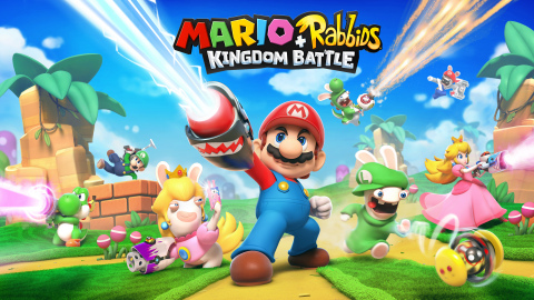 Ubisoft and Nintendo Partner to Bring Mario + Rabbids Kingdom Battle to Life (Graphic: Business Wire)