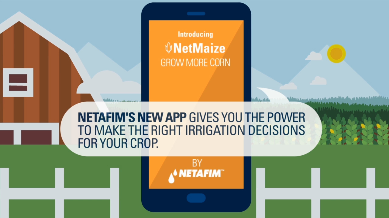 The new NetMaize mobile app combines grower knowledge, forecast data and over 50 years of agronomic expertise to deliver customized irrigation scheduling designed to boost corn yields.