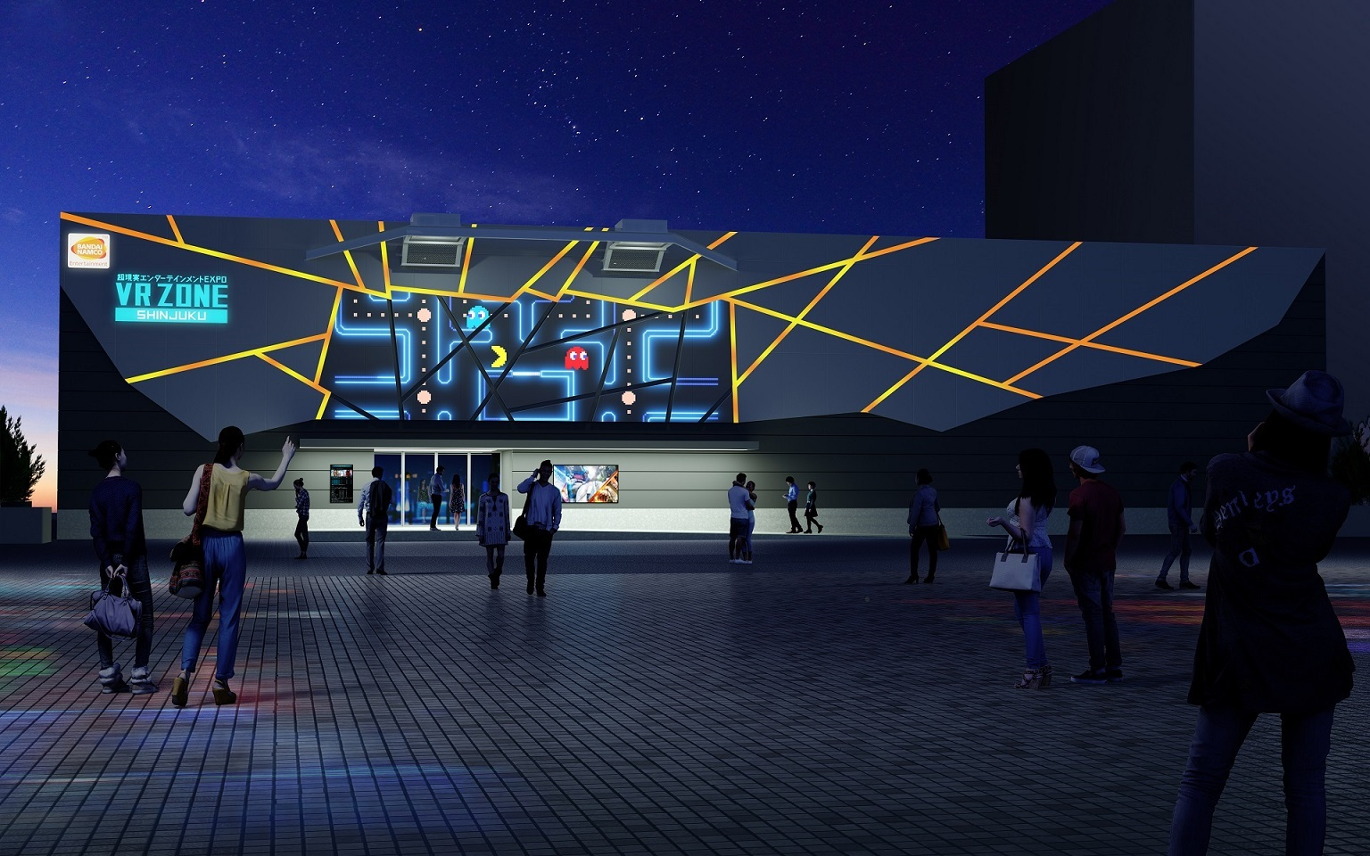 """VR ZONE SHINJUKU"" Facility Exterior Image (Photo: Business Wire)"