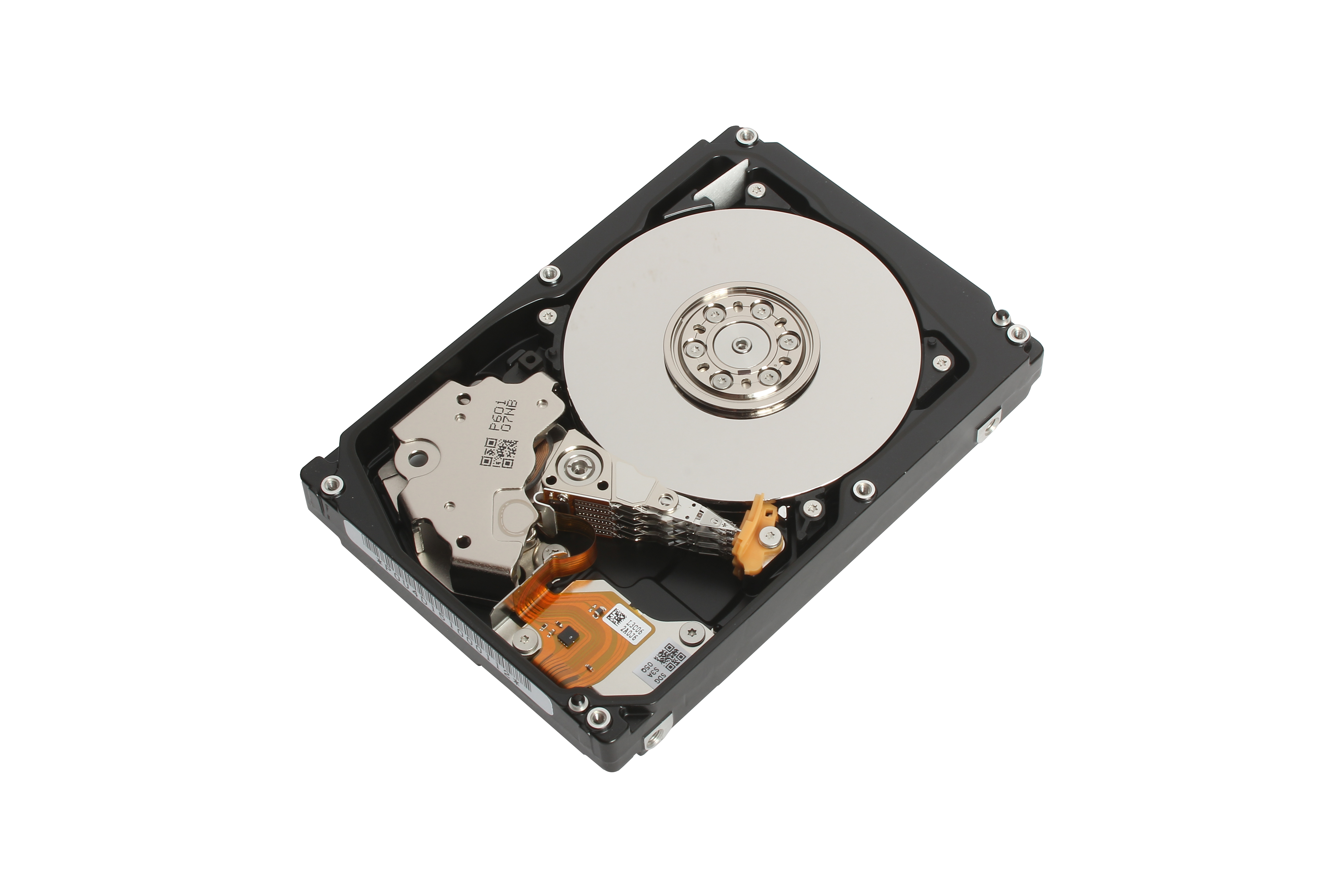 """Toshiba: """"AL14SX Series,"""" new additions to its line-up of enterprise performance hard disk drives (HDD) for mission critical server and storage applications. (Photo: Business Wire)"""