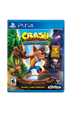 The marsupial that defined a generation is back and better than ever in a first-ever remaster of the original trilogy: Crash Bandicoot™ N. Sane Trilogy, available on June 30, 2017. (Photo: Business Wire)