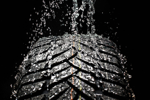 Trinseo Synthetic Rubber improves wet grip handling in high performance tires. (Photo: Business Wire)