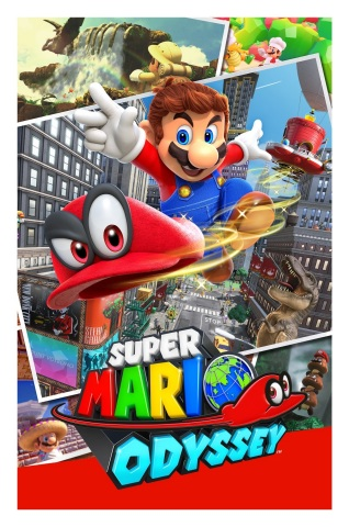 Later this year, Nintendo Switch owners will get to explore glorious new kingdoms with the Super Mario Odyssey game, the first 3D sandbox-style Mario adventure in more than 15 years. (Graphic: Business Wire)