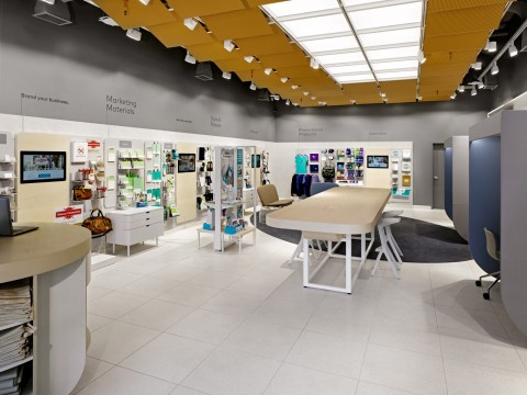 Vistaprint Opens First Brick and Mortar Retail Space (Photo: Business Wire)