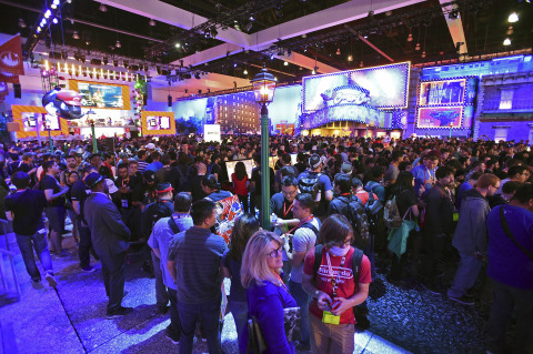 Thousands of Nintendo fans celebrate Super Mario Odyssey at the annual E3 video game convention on Tuesday, June 13, 2017, in Los Angeles. (Photo: Business Wire)