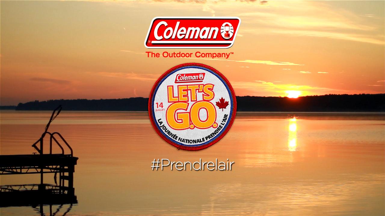Depuis 2014, Coleman Canada prend les devants pour rallier tous les Canadiens à l'idée de prendre l'air, délaissant les distractions et profitant des splendeurs du Canada! Cette année, Coleman Canada déclare le 14 juillet 2017 comme la Journée nationale Prendre l'air, une journée consacrée à explorer ce pays merveilleux et à fêter du sens de l'identité canadienne!