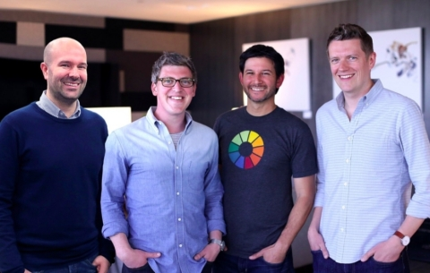 Litmus Executives from L to R: David Smalley, Managing Director, UK & Co-Founder, Paul Farnell, CDO & Co-Founder, Erik Nierenberg, CEO, and Matthew Brindley CTO & Co-Founder. (Photo: Business Wire)
