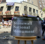 Stonewall National Monument, New York, NY. Photo Credit: Tami A. Heilemann
