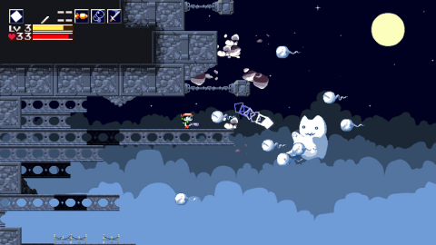 Cave Story+, the definitive edition of the classic game, will be available on the Nintendo Switch console on June 20. (Graphic: Business Wire)