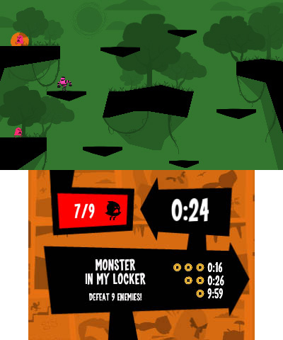 Runbow Pocket is a fast, frantic game in which you can conquer more than 145 levels. Runbow Pocket will be available on June 20. (Graphic: Business Wire)