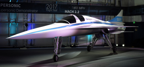 Additive manufacturing enables unmatched design freedom and production speed of Boom's XB-1 supersonic demonstrator (Photo: Business Wire)
