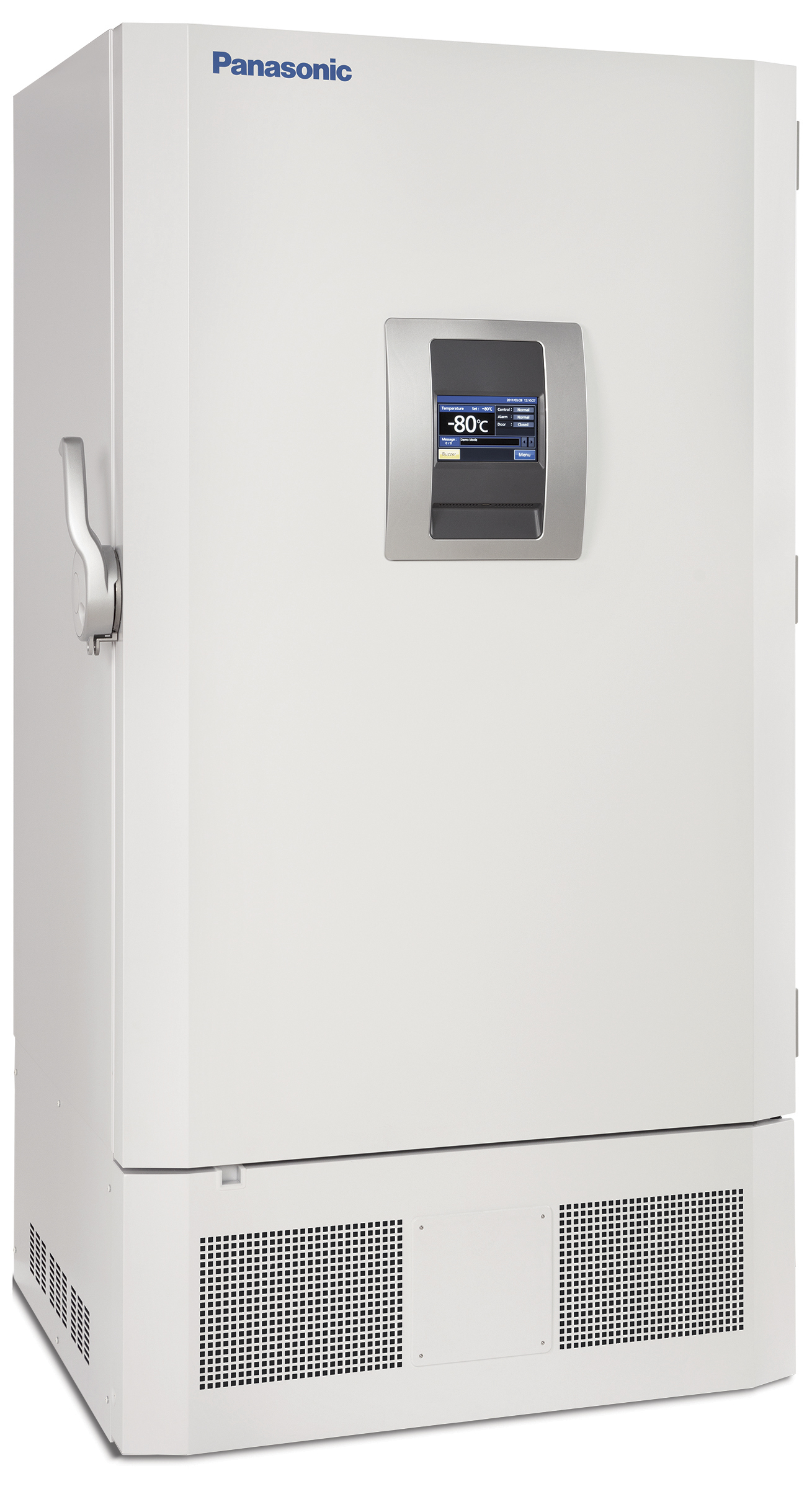 Panasonic Healthcare TwinGuard -86˚C freezers are available in two upright cabinet sizes of 18.6 cu.ft. and 25.8 cu.ft. (shown). (Photo: Business Wire)
