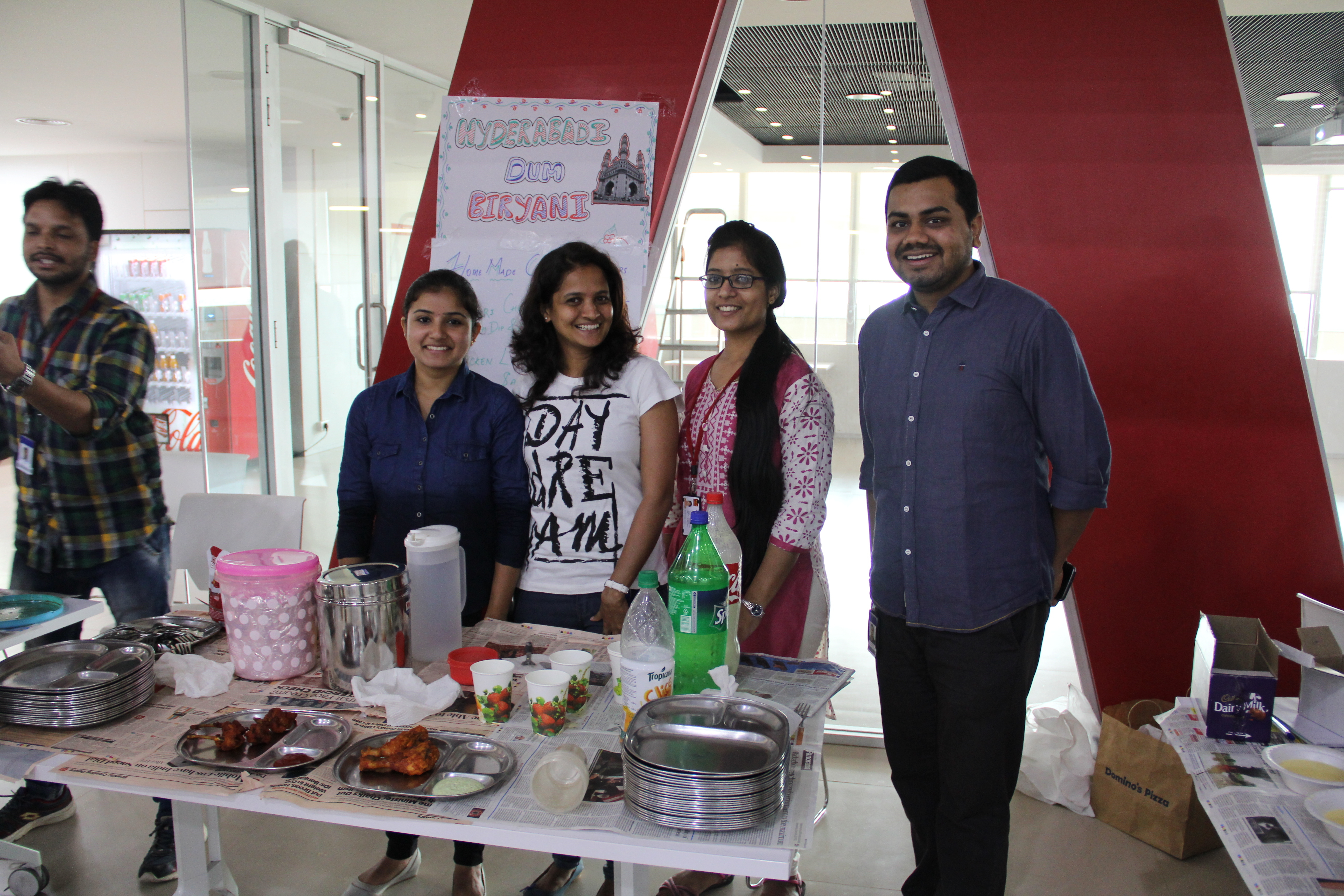 Wells Fargo India Solutions Team Members Raise Money for