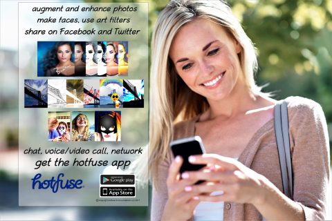Hotfuse is enhancing and simplifying how you share your visual world and communicate with family and friends. (Graphic: Business Wire)