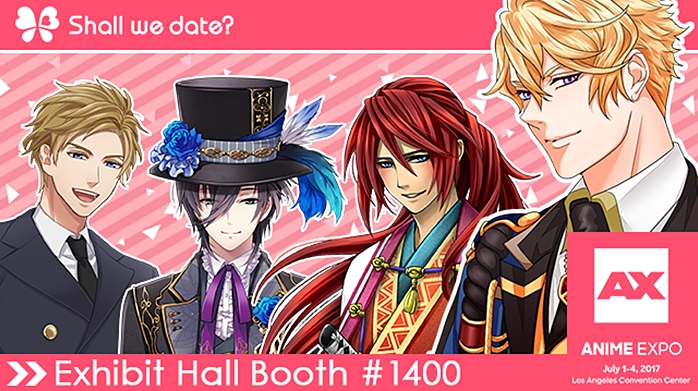 NTT Solmare's Shall we date? and Moe! Ninja Girls Attend Anime Expo 2017 in Los Angeles. For All the People Who Wish to Find the Dream Lover! #1 Dating Simulation Game (Graphic: Business Wire)