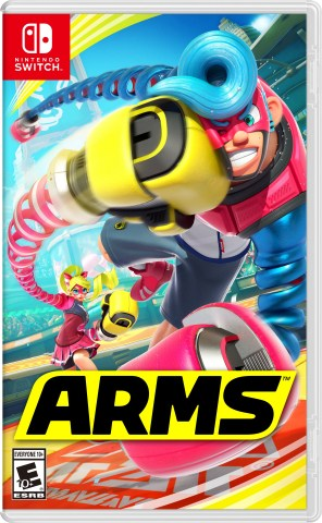 The ARMS game is now available for everyone, even those with regular-sized arms, to enjoy. (Photo: Business Wire)