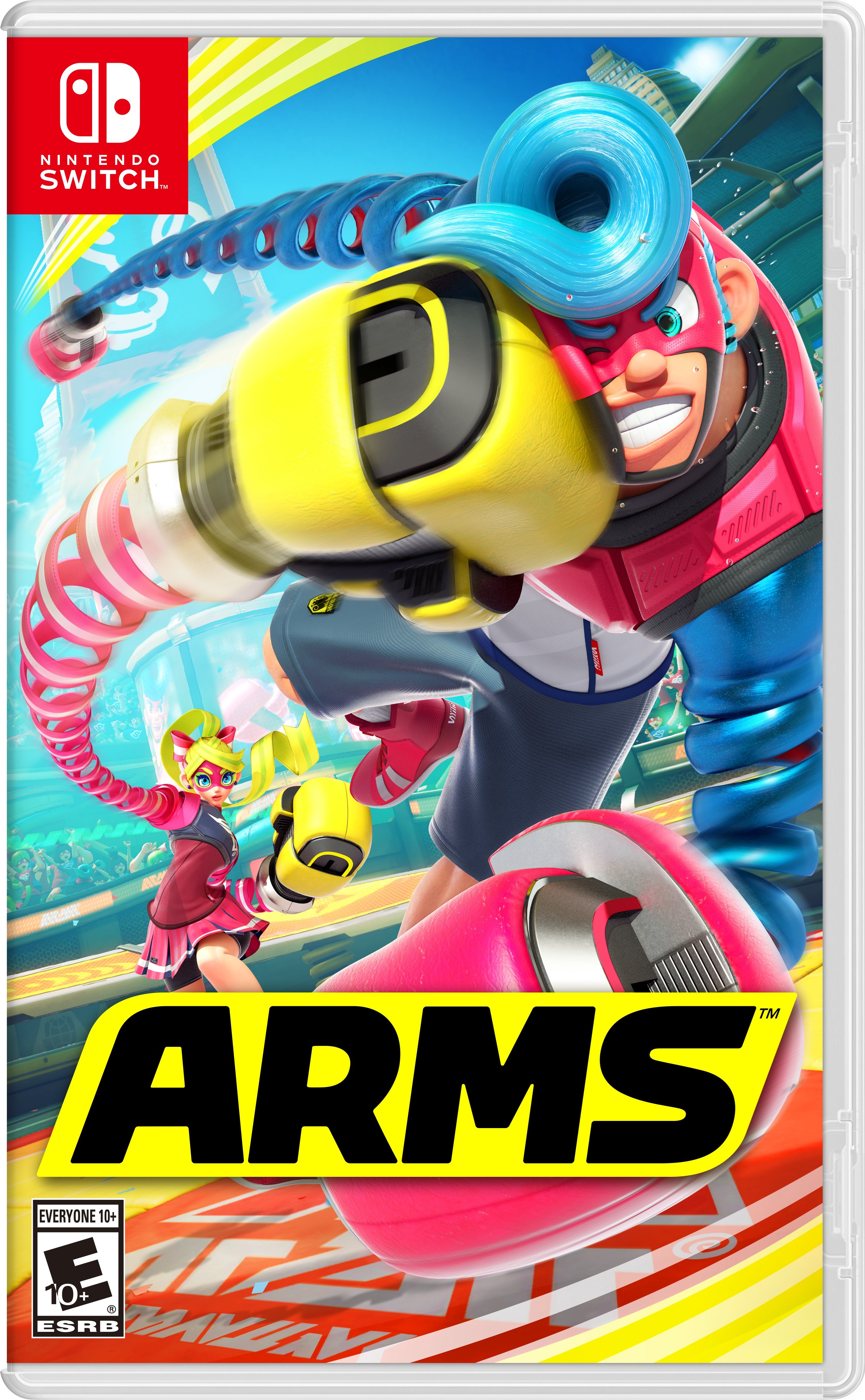 Revolutionary New Fighting Game Arms Now Available For Nintendo Pokemon Tournament Dx Us English Switch Business Wire