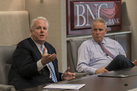 Terry Turner and Rick Callicutt (Photo: Business Wire)