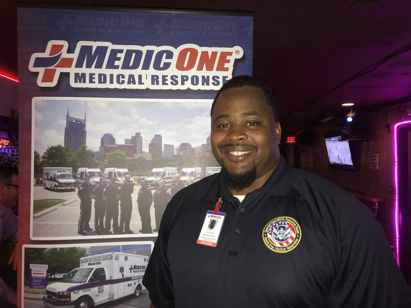 Larry Dorsey, Regional Director of Business Development for MedicOne Medical Response