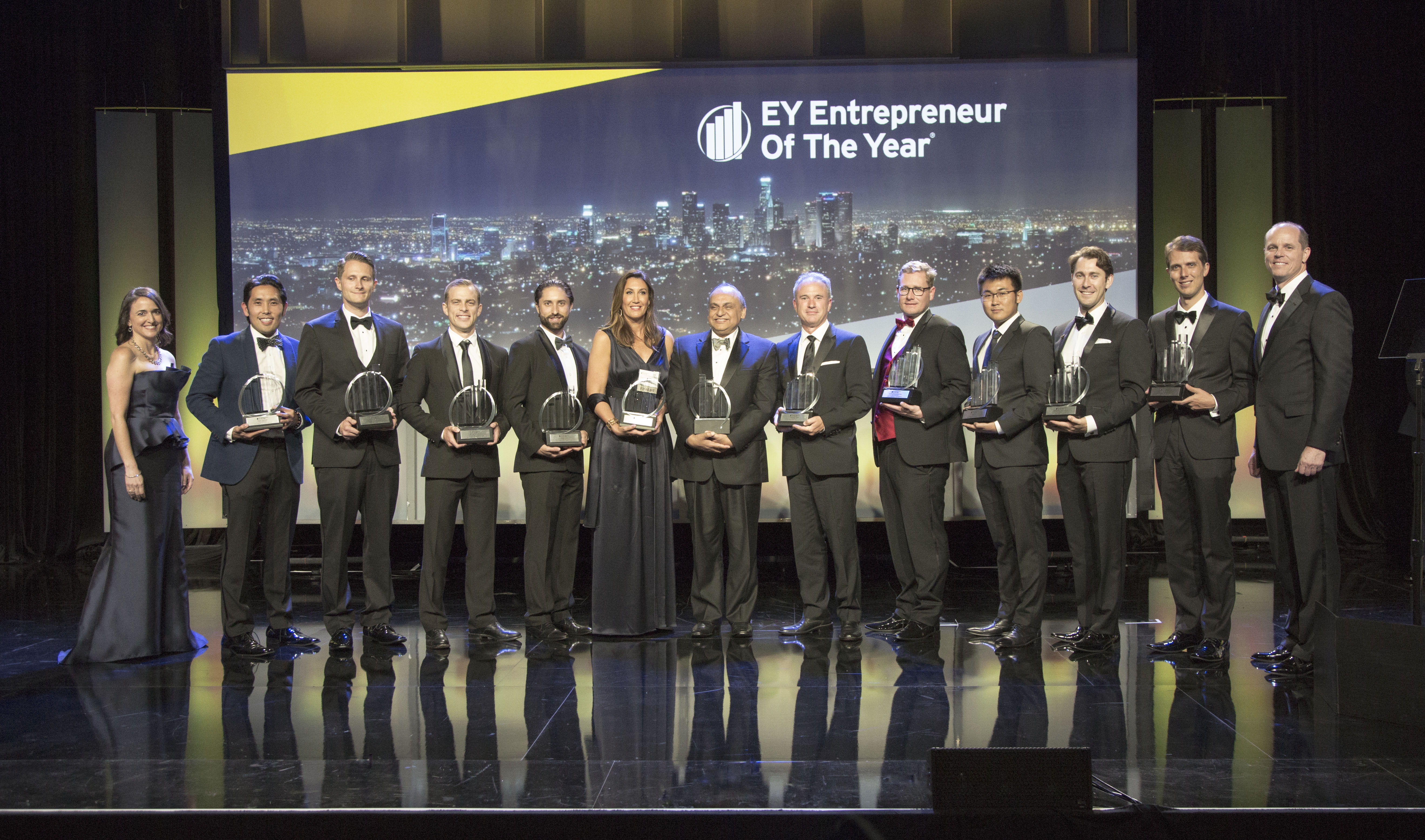 2017 Entrepreneur of the Year Greater Los Angeles Region winners (Photo: Business Wire)