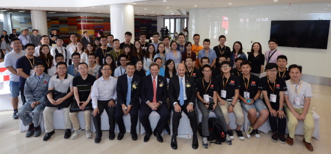 Axalta hosts Campus Talk for five top China universities at newly opened Asia-Pacific Technology Center (Photo: Axalta)